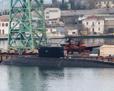 Подводная лодка ЧФ «Ростов-на-Дону» прибыла в Севастополь
