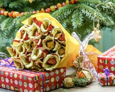"""Новогодняя сказка: """"Жёлтый цветок или фея крокусов"""""""