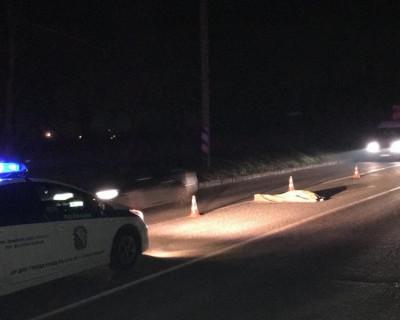 Ночной ИНФОРМЕР: На дороге в Инкерман лежит неопознанный труп (фото, видео)