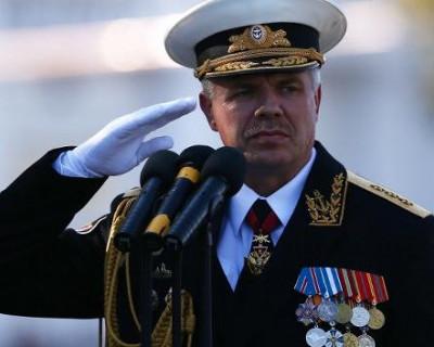 Командующий Черноморским флотом адмирал Александр Витко поздравил с наступающим Новым годом!