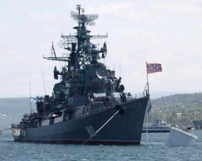 Сторожевой корабль Черноморского флота «Сметливый» вернулся в Севастополь из Средиземного моря