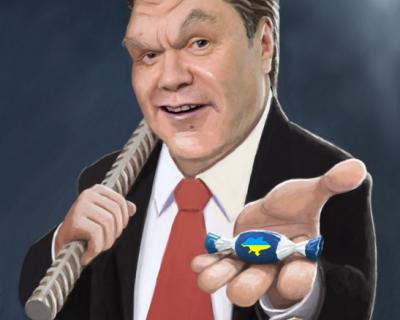 Новогодние подарки от Запада:  яд для Порошенко и леденец Януковичу
