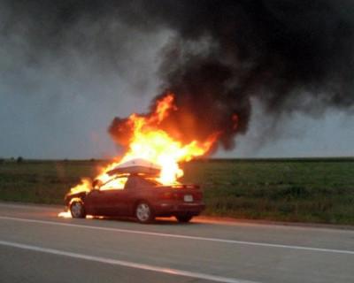 АвтоФакел: Хронология возгораний авто в Большой Ялте в январе 2016
