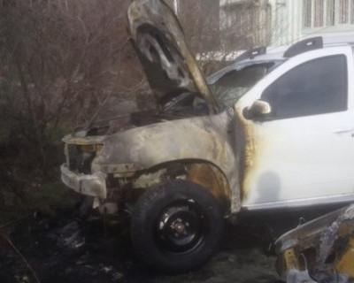 В Ялте продолжаются поджоги автомобилей (фото)