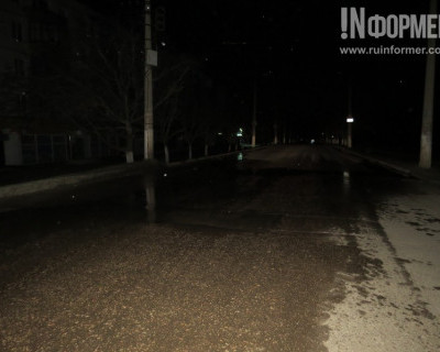 Осторожно! На проспекте Победы утром будет каток (фото)