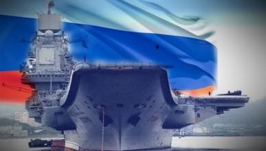 Как авианосец «Кузнецов» перешел на Север (фото)