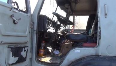 В Крыму сотрудники ГАИ открыли стрельбу по грузовику с пьяным водителем (видео)