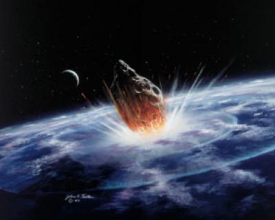 Конец света никто не отменял! К Земле приближается метеорит и всё взлетит на воздух (скирншот)