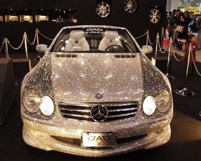 А не хочет ли наша Контрольно-счётная палата Mercedes в стразах от Swarovski?