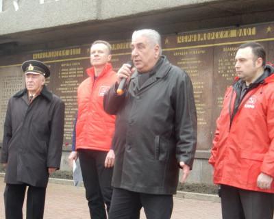 Севастопольские коммунисты протестуют! (фото, видео)