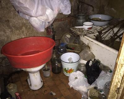 В захламленной квартире: дряхлая старушка, больная дочь и пятеро собак (фото, видео)