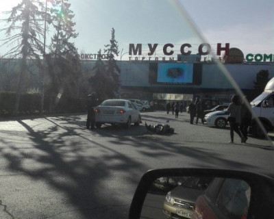 ДТП в Севастополе: «Тойота» прервала полёт мопеда (фото)