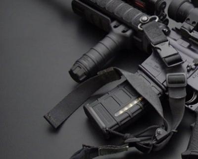 На Максимовой даче взят арсенал штурмового стрелкового оружия (фото, видео)