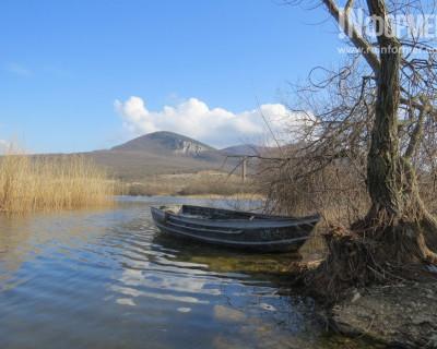 Как преобразился берег затопленного карьера у горы Гасфорта за зимние месяцы (фото)