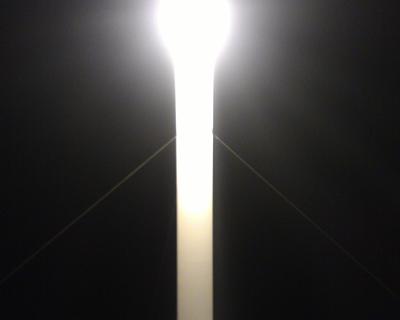 После того, как на пешеходном переходе был сбит подросток, на Вакуленчука установили световую башню (фото)