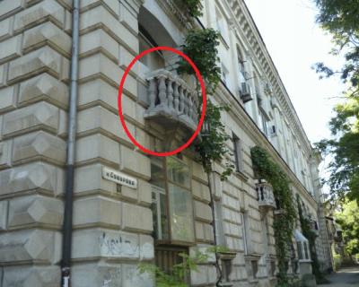 Улицу Суворова советуем пробегать! Там возможен балконопад (фото)