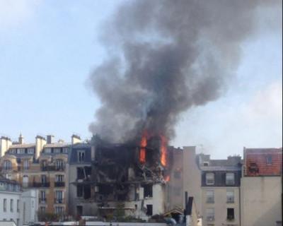 В Париже прогремел взрыв! (фото)