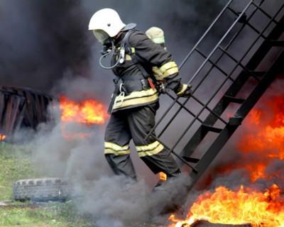 Севастополь горит - спасатели тушили пожар на скорость (фото)
