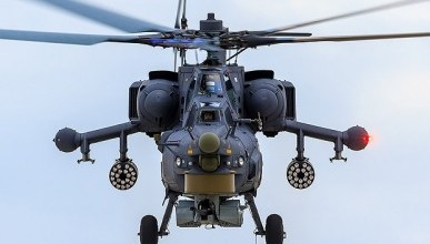 Российский военный вертолет разбился в Сирии (фото с места крушения)