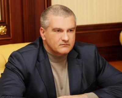 Глава Крыма ответил на известие о своём аресте: «Сижу и жду, когда приедут» (скриншот)