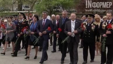 В честь годовщины освобождения Балаклавы от немецко-фашистских захватчиков (фото, видео)