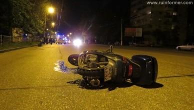 Ночной ИНФОРМЕР: На проспекте Генерала Острякова не разминулись скутер и пешеход. Оба в больнице (фото)