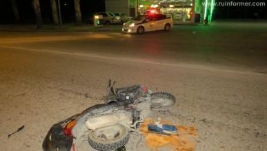 Ночной ИНФОРМЕР: В Инкермане столкнулись микроавтобус и мопед. Водитель выжил (фото)