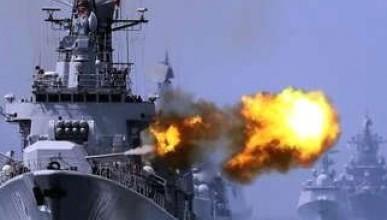 В Чёрном море началась серьёзная стрельба