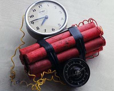 На границе с Крымом был обнаружен заряженный взрывчаткой автомобиль