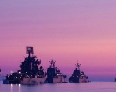 Боевые корабли Черноморского флота РФ к Дню Победы готовы