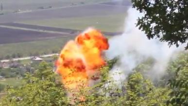 Сегодня на Сапун-горе было неспокойно - раздавались взрывы (фото, видео)