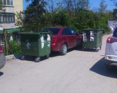 В Севастополе идёт борьба против «оленей» на парковке (фото)