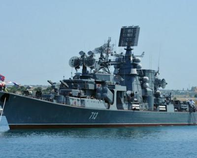 В Севастополе произошло возгорание на противолодочном корабле «Керчь»