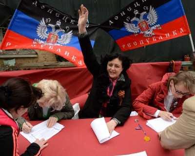 Выборы на Донбассе глазами нашего севастопольского журналиста