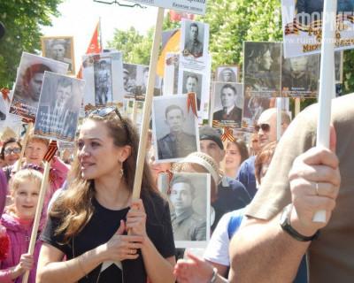 По улицам Севастополя промаршировал «Бессмертный полк» (фото)
