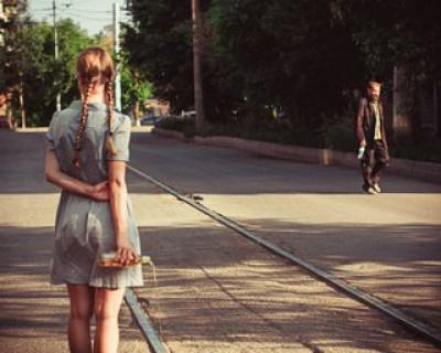 В Балаклаве Аннушка разлила масло - пешеходы будут «залетать» под колёса транспорта (фото)