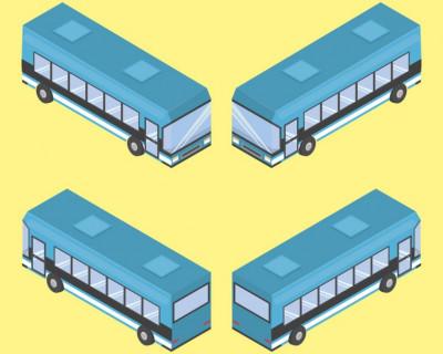 В Севастополе автобус зацепил два автомобиля и скрылся с места (фото)