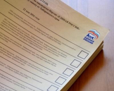 В Хабаровском крае вынуждены раздавать анкеты — бюллетеней на всех не хватило