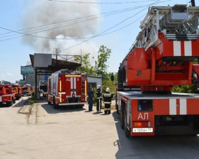 В Севастополе огонь «сожрал» мебель - людей не тронул (фото)
