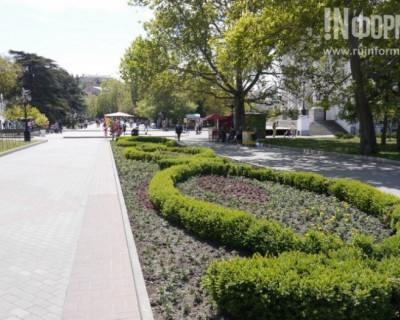Как украсили Севастополь перед 9 мая 2016 г.