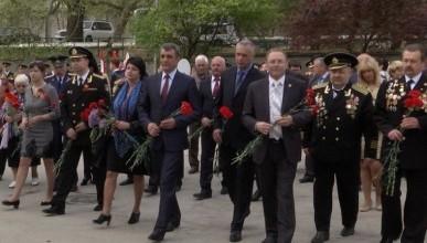 В честь годовщины освобождения Балаклавы от немецко-фашистских захватчиков