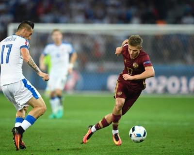 Евро-2016. 2 тайм. Россия - Словакия - 1:2