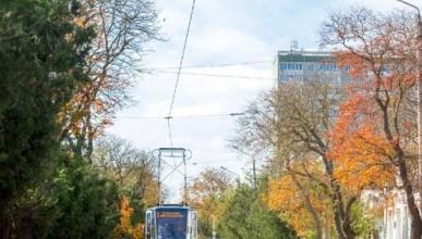 Трамвайное депо Евпатории до сих пор считает Крым Украиной