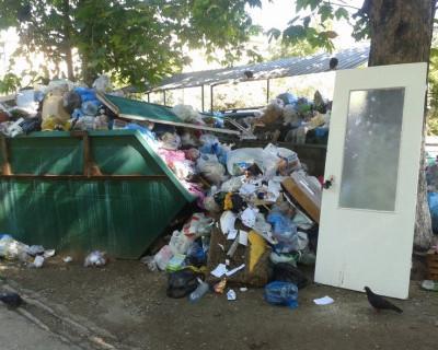 В Севастополе дверь в лучшую жизнь находится на помойке? (фото)