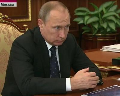 Разговор президента России и губернатора Севастополя состоялся (видео)
