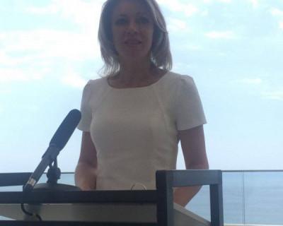 Мария Захарова похвалила губернатора Севастополя за крепкие флотские шутки в адрес Украины