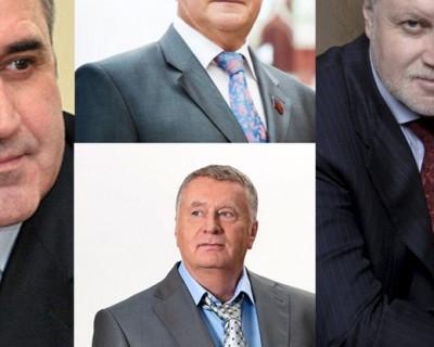 Неожиданно! Эсеры, КПРФ и ЛДПР намерены разговор с Владимиром Путиным сделать частью предвыборной кампании