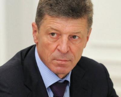 О чём вице-премьер РФ Дмитрий Козак «шепчется» с главами Крыма и Севастополя?