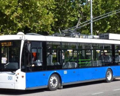Мода севастопольских троллейбусов (фото)