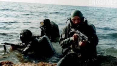 В Севастополе уничтожили подводных диверсантов